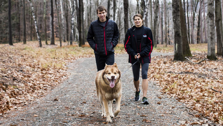 Ben, Sarah and Ötzi.  Nulo Pet Food