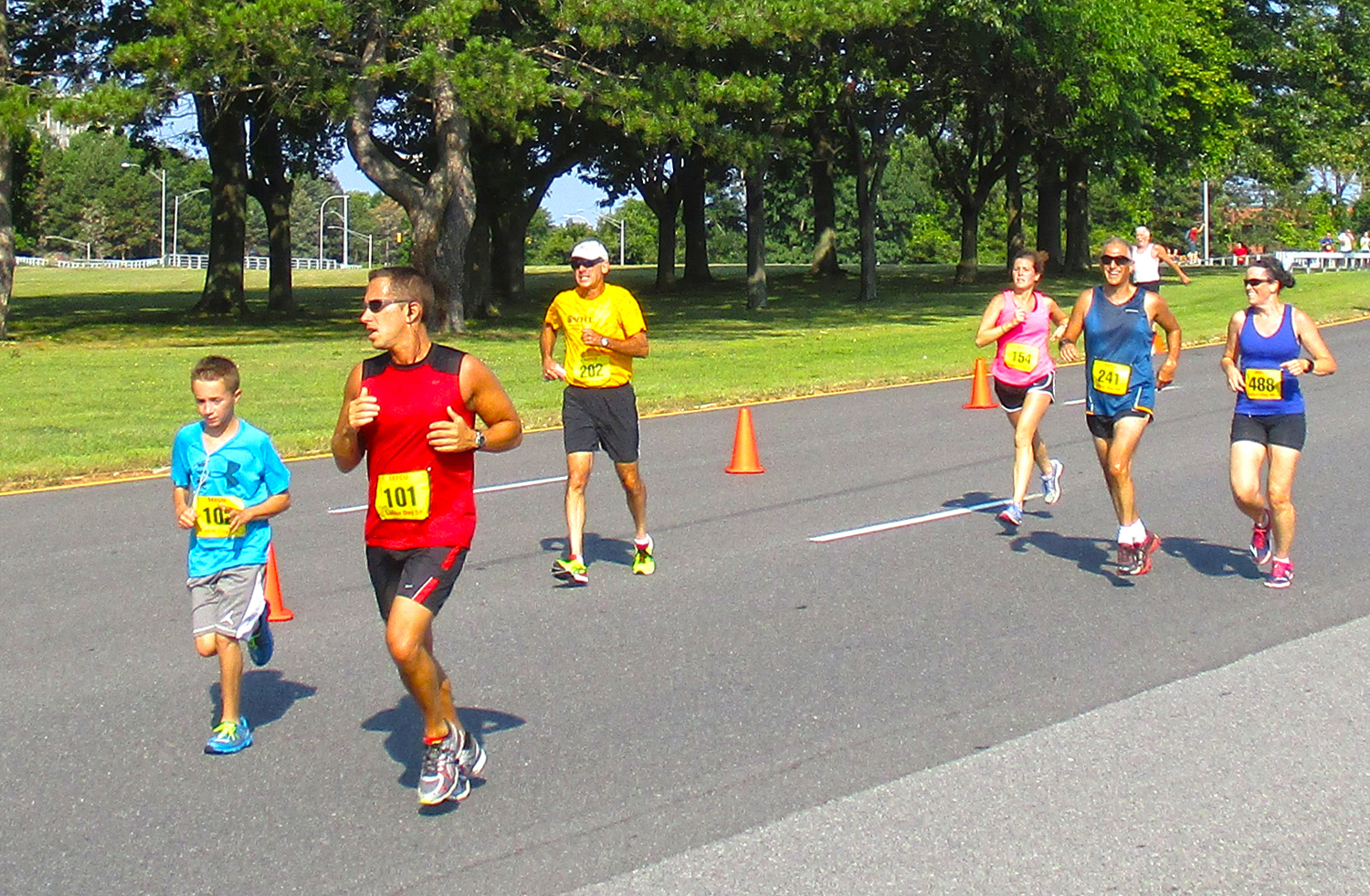 2015 SEFCU Labor Day 5K at State Office Campus, Albany.  Jack Berkery