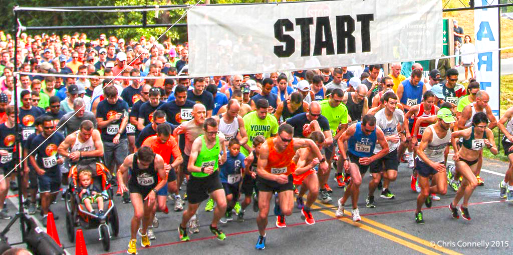 2015 Malta 5K with 750 runners. Chris Connelly