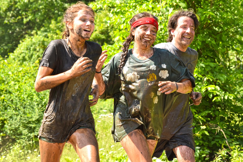 ● Muddy runners at the 2016 Tuff eNuff 5K Obstacle Challenge.  Neil Sergott