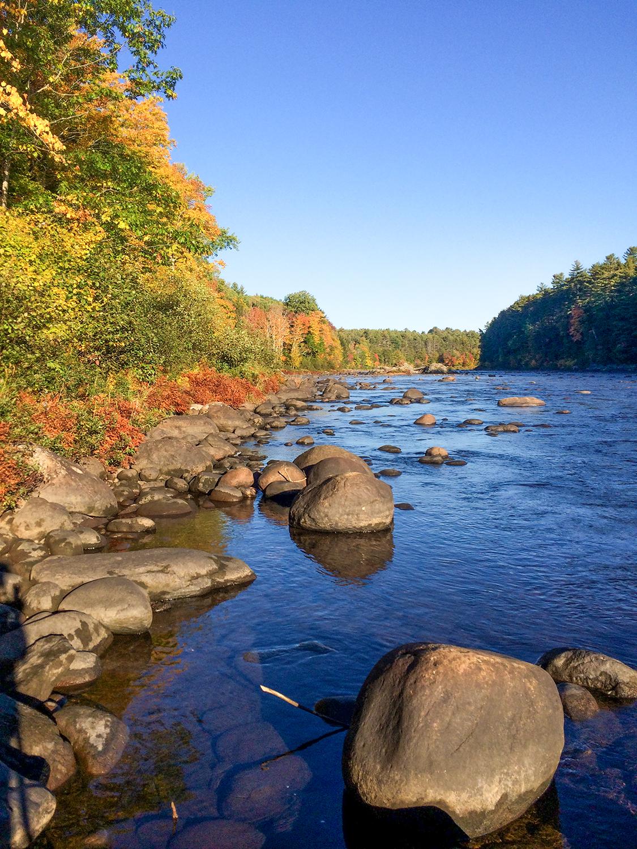 Hudson River near Newcomb in the Adirondacks. Skip Holmes