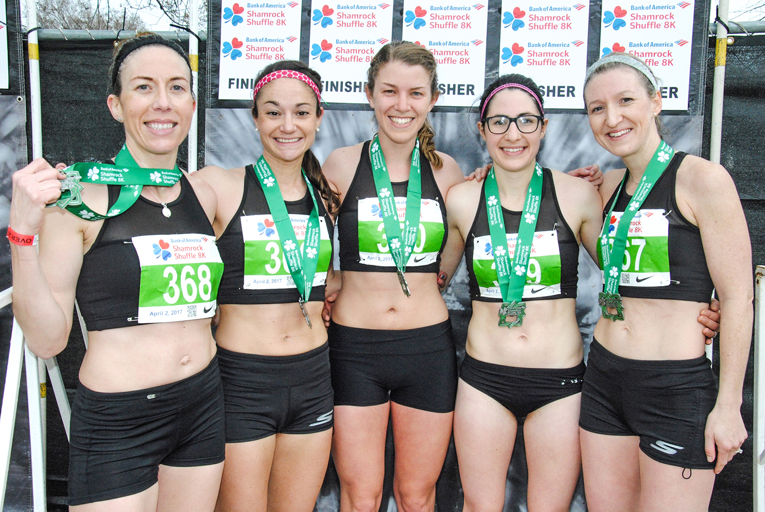 Willow Street teammates at the 2017 Shamrock Shuffle 8K in Chicago.