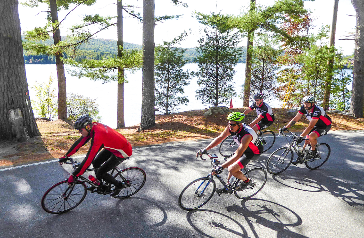 The Harry Elkes Ride starts in Brant Lake and winds through the beautiful North Warren County area.   Dave Kraus/krausgrafik.com