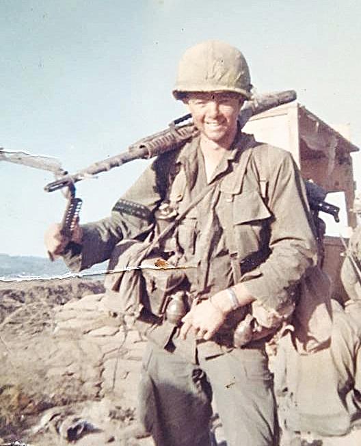 Terry serving in Vietnam,1967.