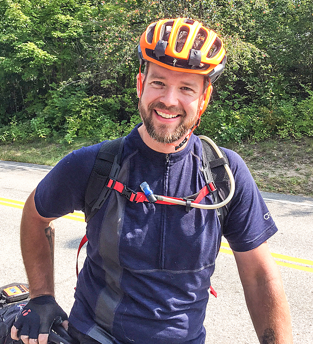 Mile 392-ish, two days and four hours into The Adirondack Trail Ride.  Keith McKeever