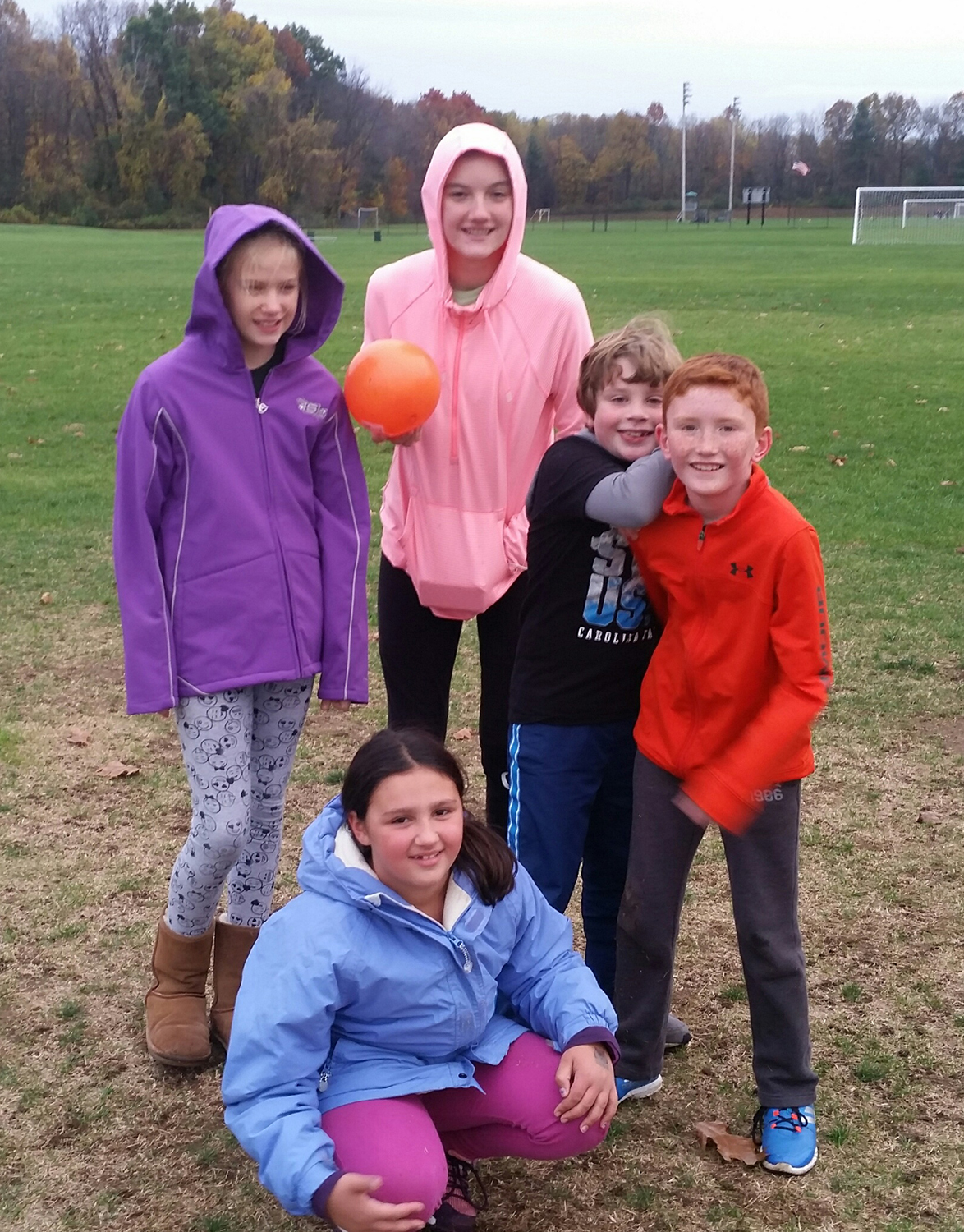 2017 Shenendehowa program kicked-off on Nov. 7 with third, sixth and eighth graders.  Carrie Buetow