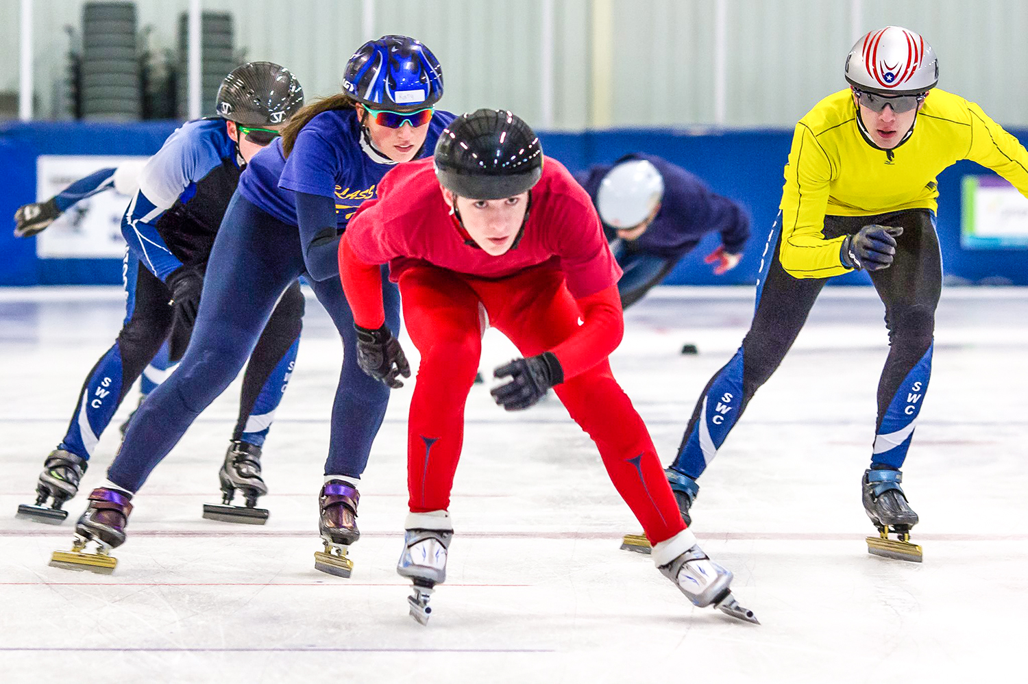 Speedskating offers recreational, competitive and cross-training opportunities.  Saratoga Winter Club