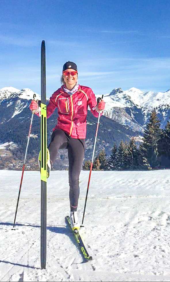 "Fischer - and other brands - now have skis that have skins under them, but just in the kick zone. It is incredible! When waxing gets tricky, and you are switching from ice, to wet, to powder… these things literally save the day. US Olympic cross country skier, Sadie Bjornsen (pictured) says, ""I'm lucky that I have a wax technician that takes care of my skis on the World Cup, but I often really miss him during training camp, so these skis have kept my training high quality during those tricky waxing days - amazingly, they are still really fast!""  Alaska Pacific University Nordic Ski Center"