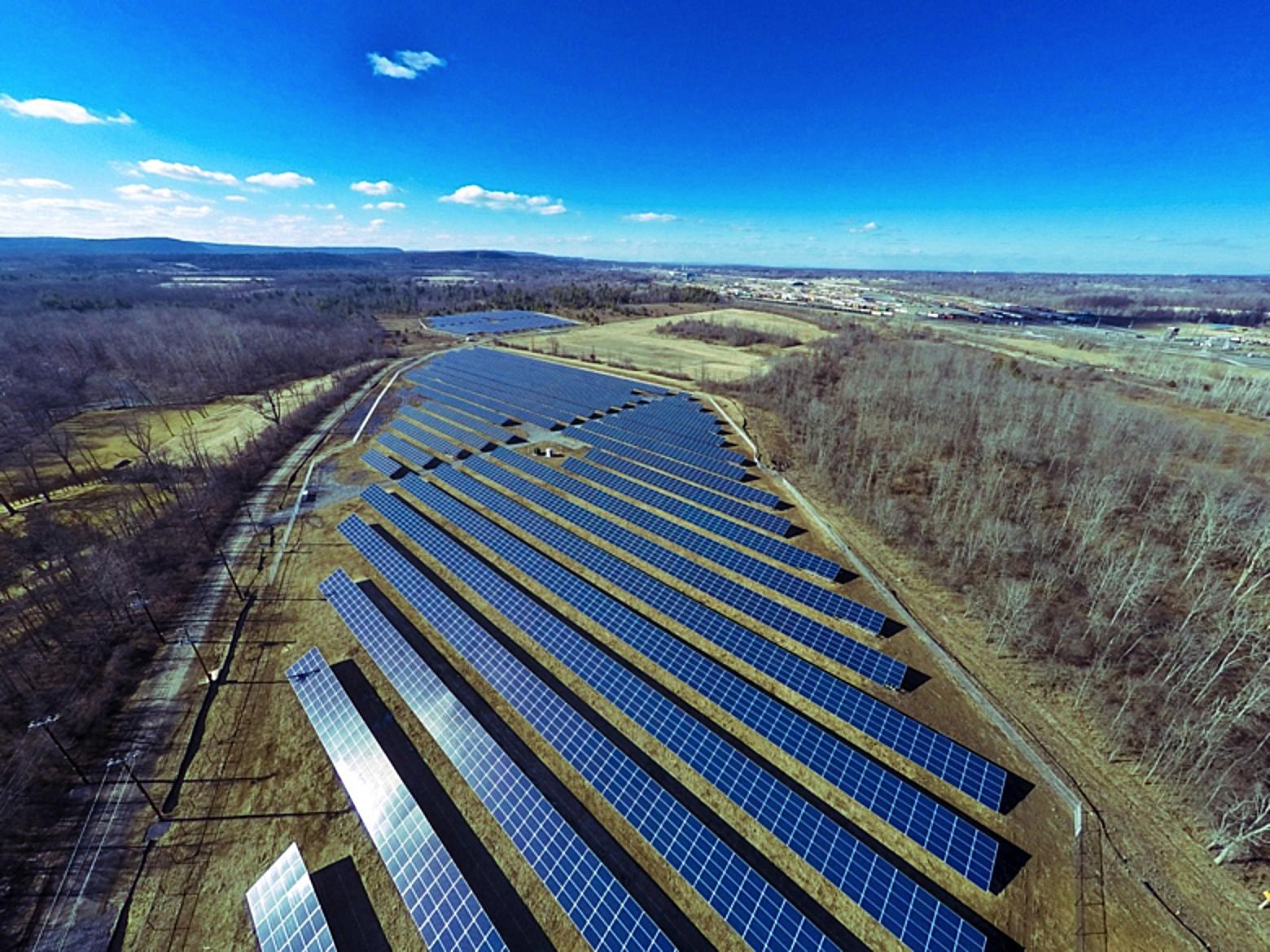 Town of Bethlehem solar photovoltaic system.  NextEra Energy Resources