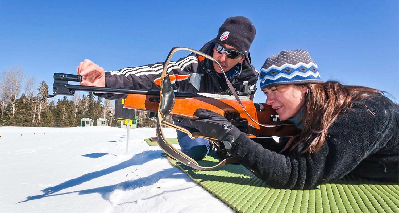 Discover Biathlon at Mt. Van Hovenberg.  ORDA