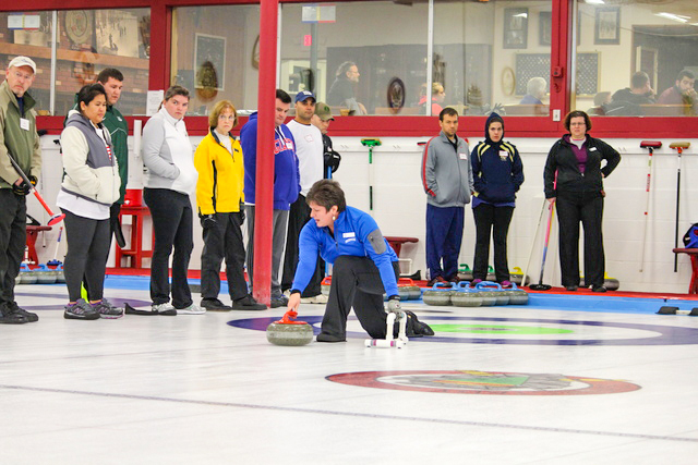 Open house at Schenectady Curling Club.  Daily Gazette