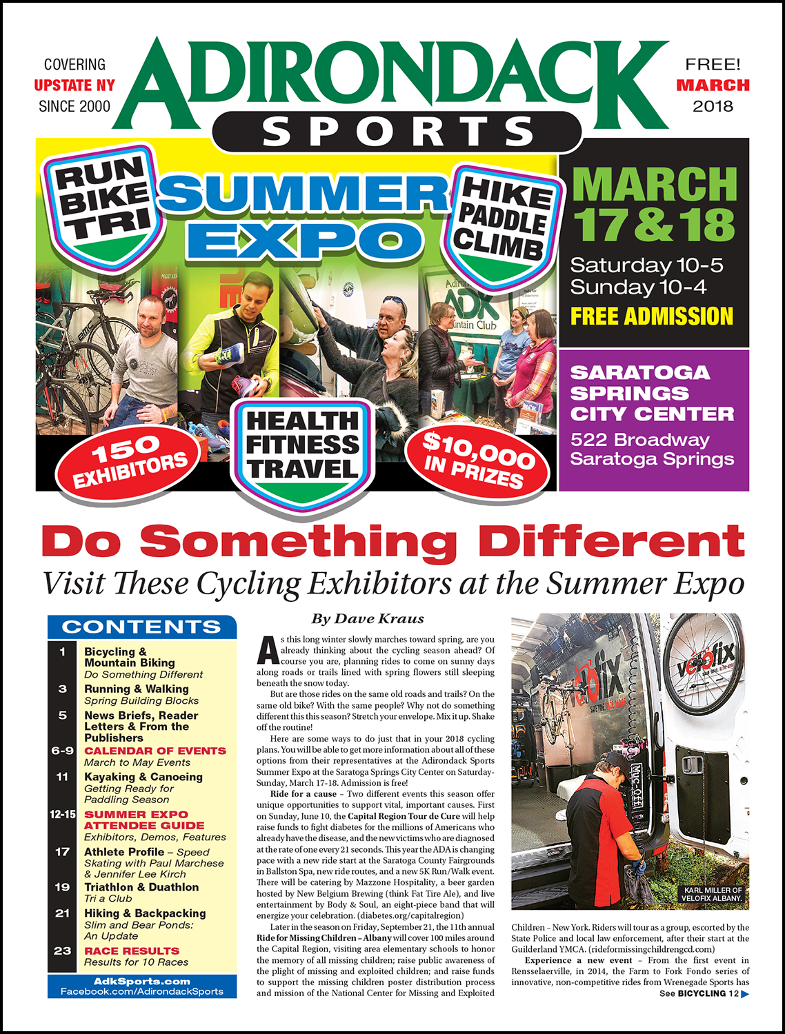March 2018 - Read Articles / View PDF