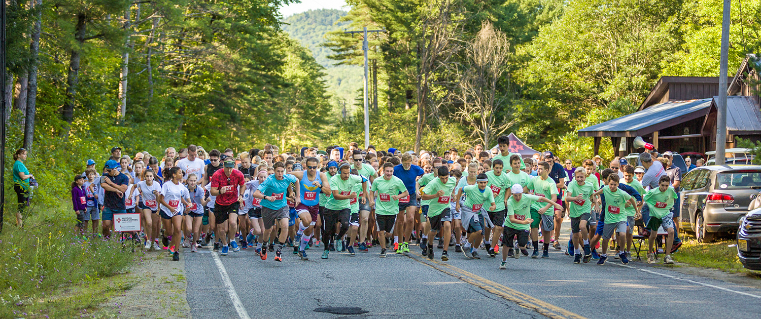 2017 HHHN Care for Kids 5K from Chestertown to Brant Lake.
