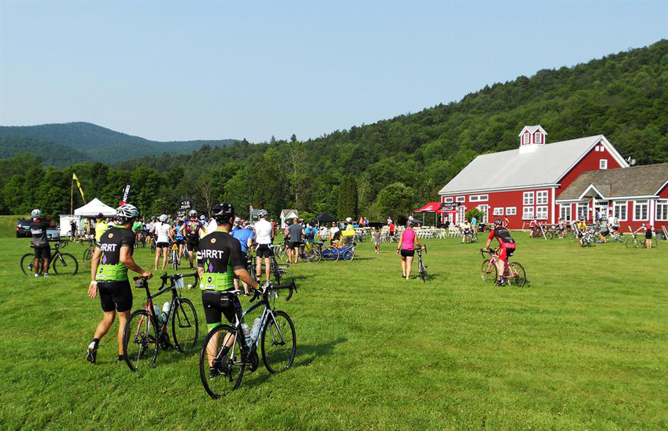 2017 Farm to Fork Fondo at Champlain Islands, Vermont.  Wrenegade Sports