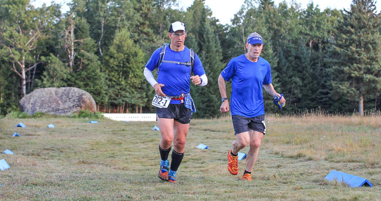 2017 ADK 80K Trail Run.   Brad Crosby