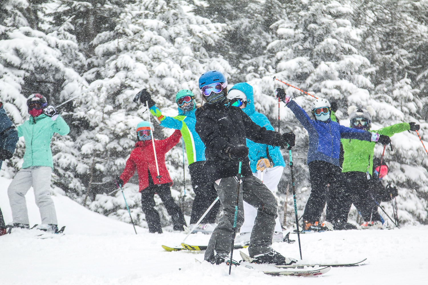 At Gore, let it SNOW!