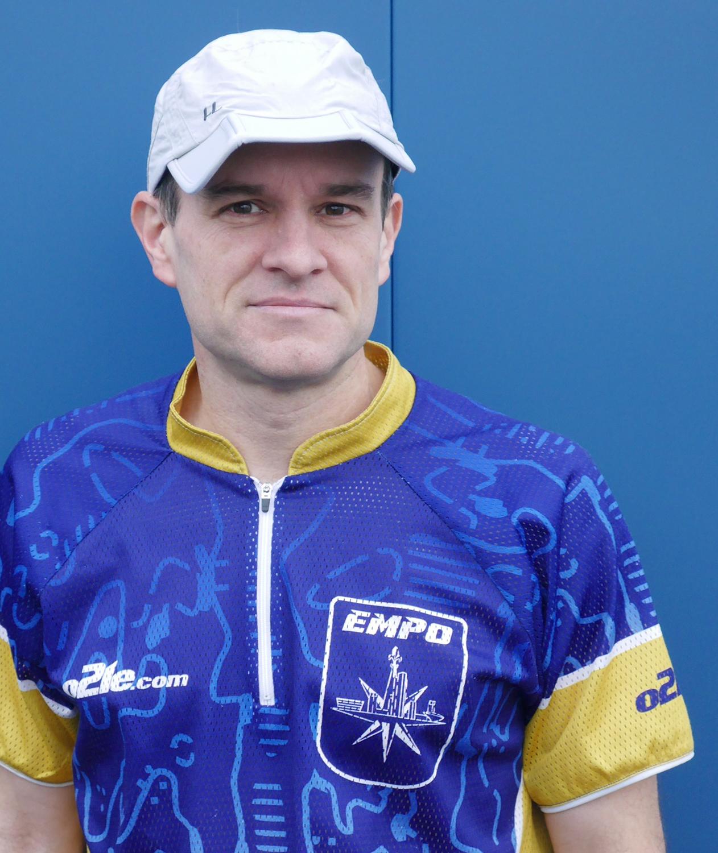 Empire Orienteering Club jersey.   Jason Murphy