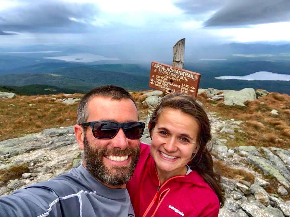 Saddleback Mountain, Maine.
