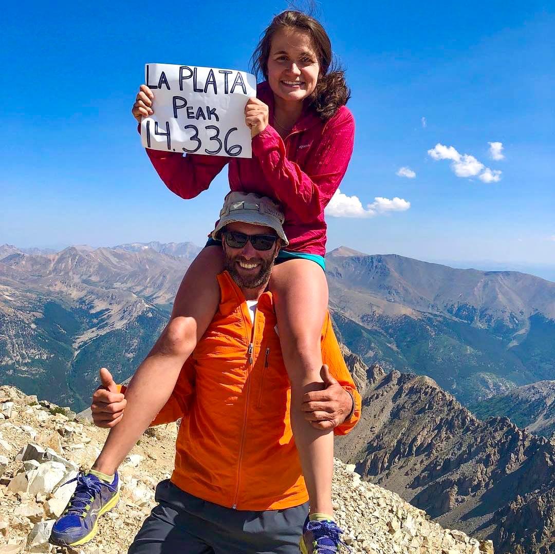 La Plata Peak, Colorado.