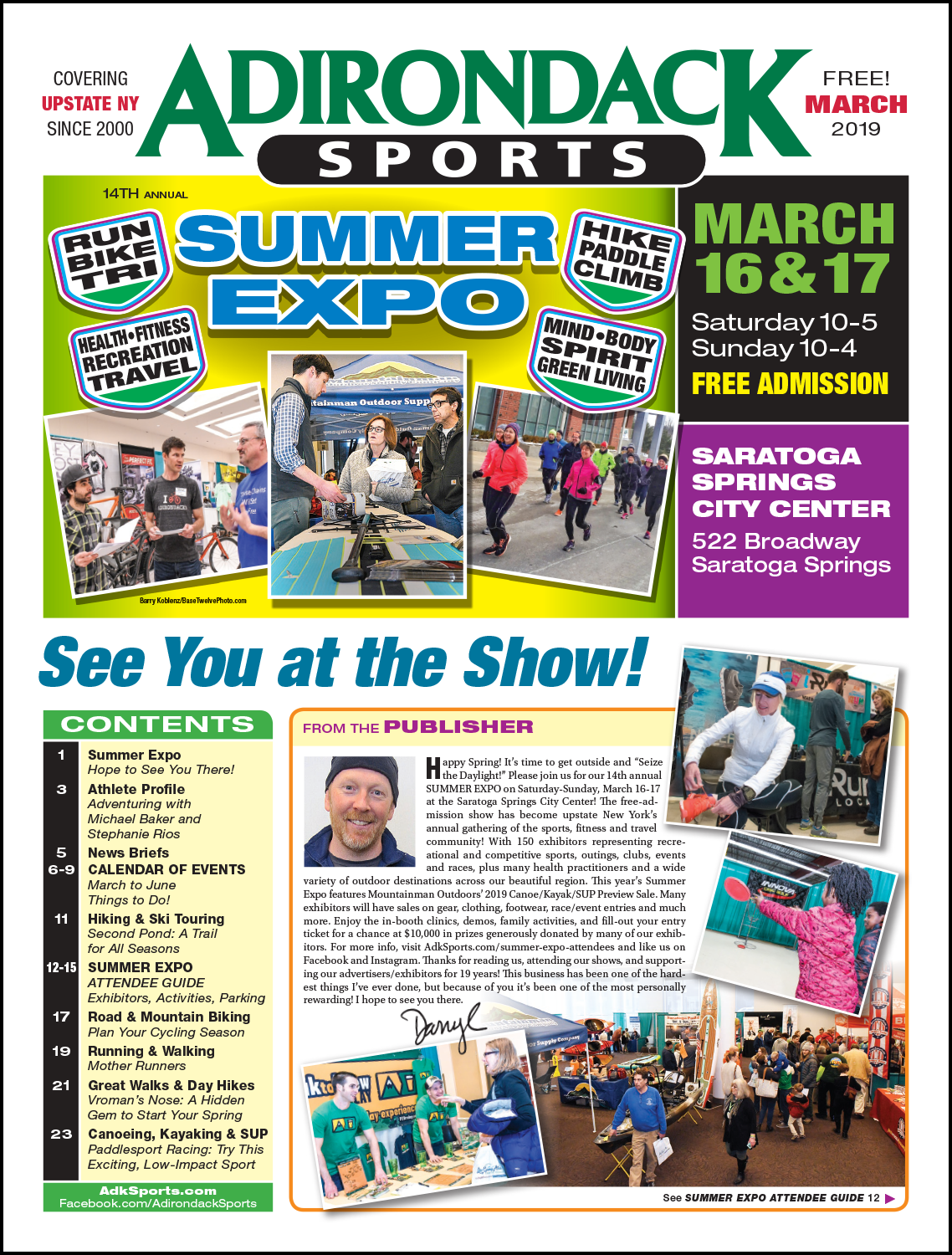 March 2019 - Read Articles / View PDF