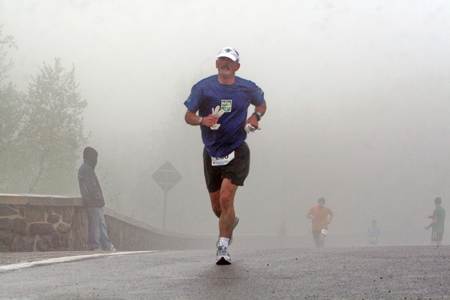 In 2010, Dan Olden appears out of Prospect's fog like an apparition.  Brian Teague/Fateague Fotos