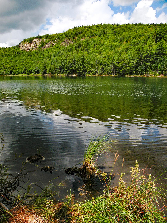 Cat Mountain Pond.  Bill Ingersoll