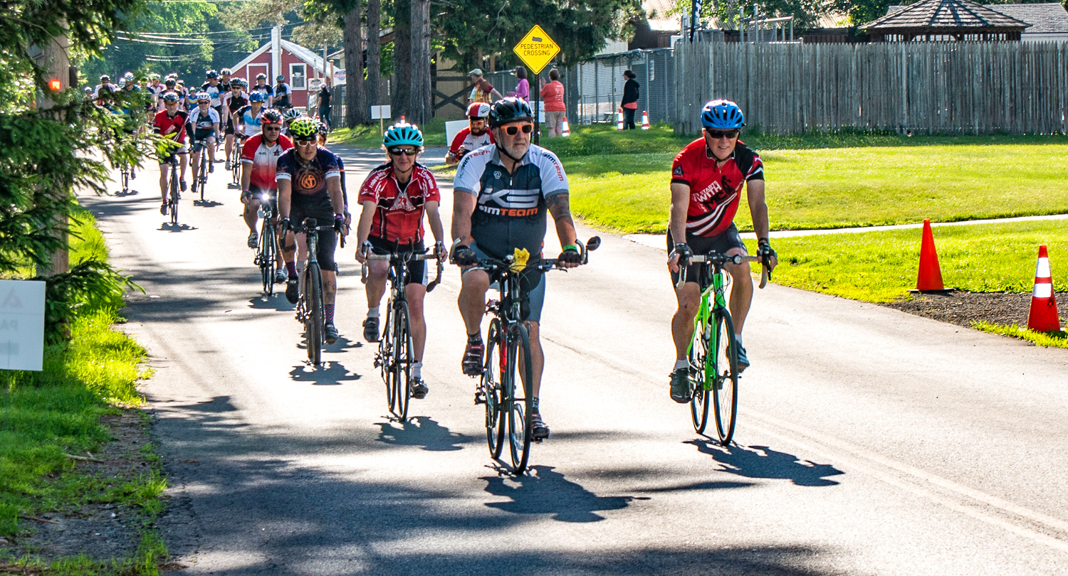Kivort Steel Diabetes Revolution and friends along the way at the 2018 Capital Region Tour de Cure.  Clifford Hopkins Photography