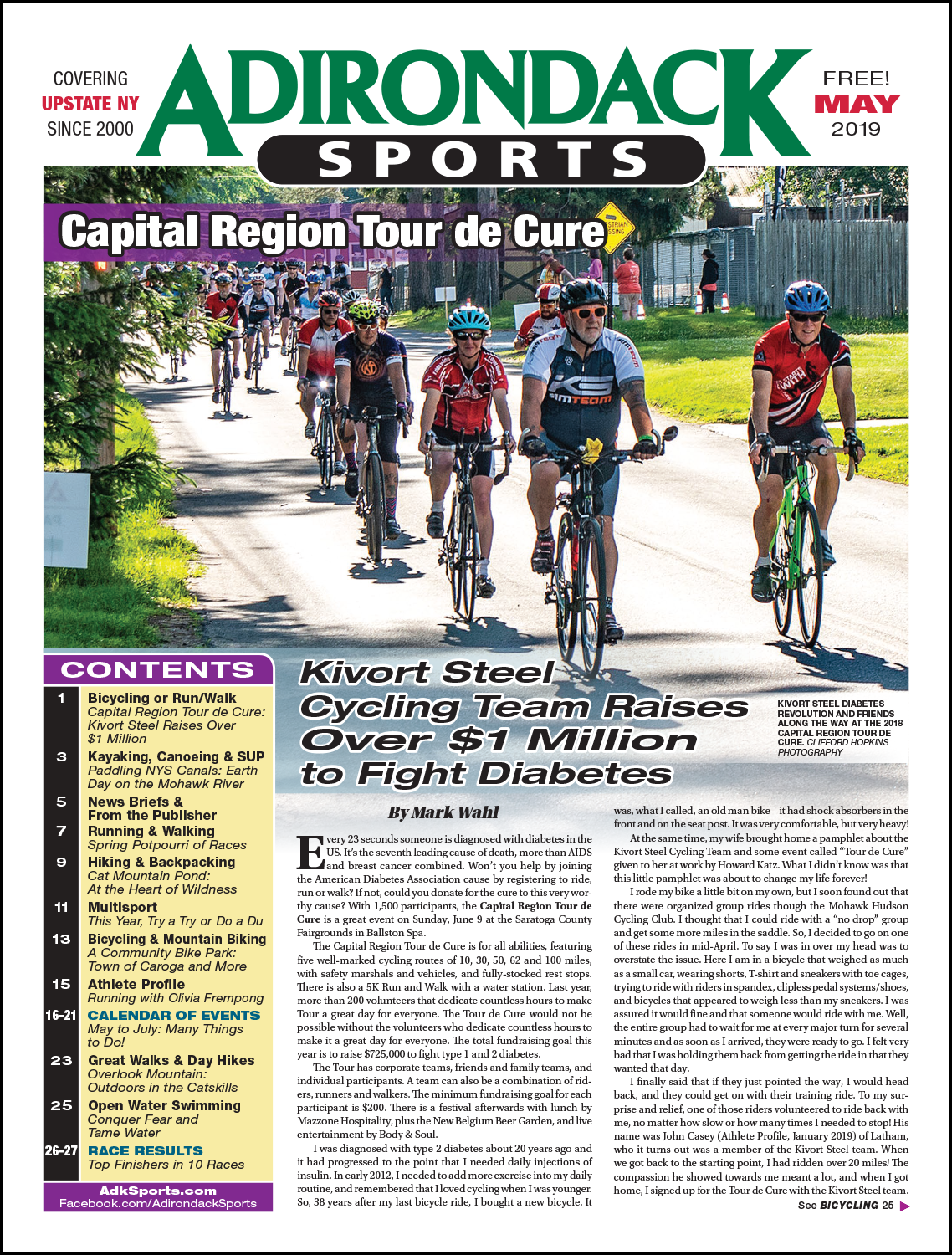 May 2019 - Read Articles / View PDF