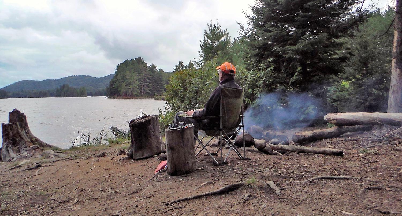Lows Lake camping.   Rich Macha