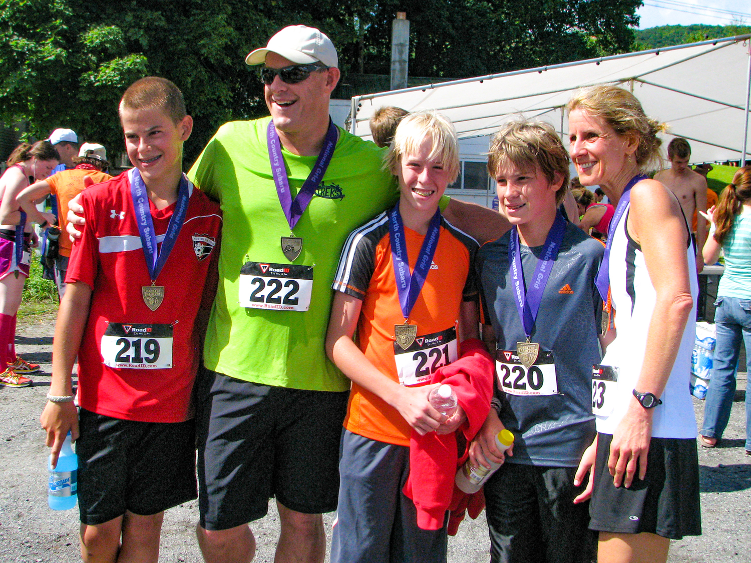 Hudson River Ramble, formerly Race the Train, is a wonderful family event.   Nancy Quillinan