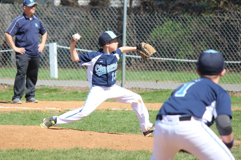 Wyatt pitching in 2017.