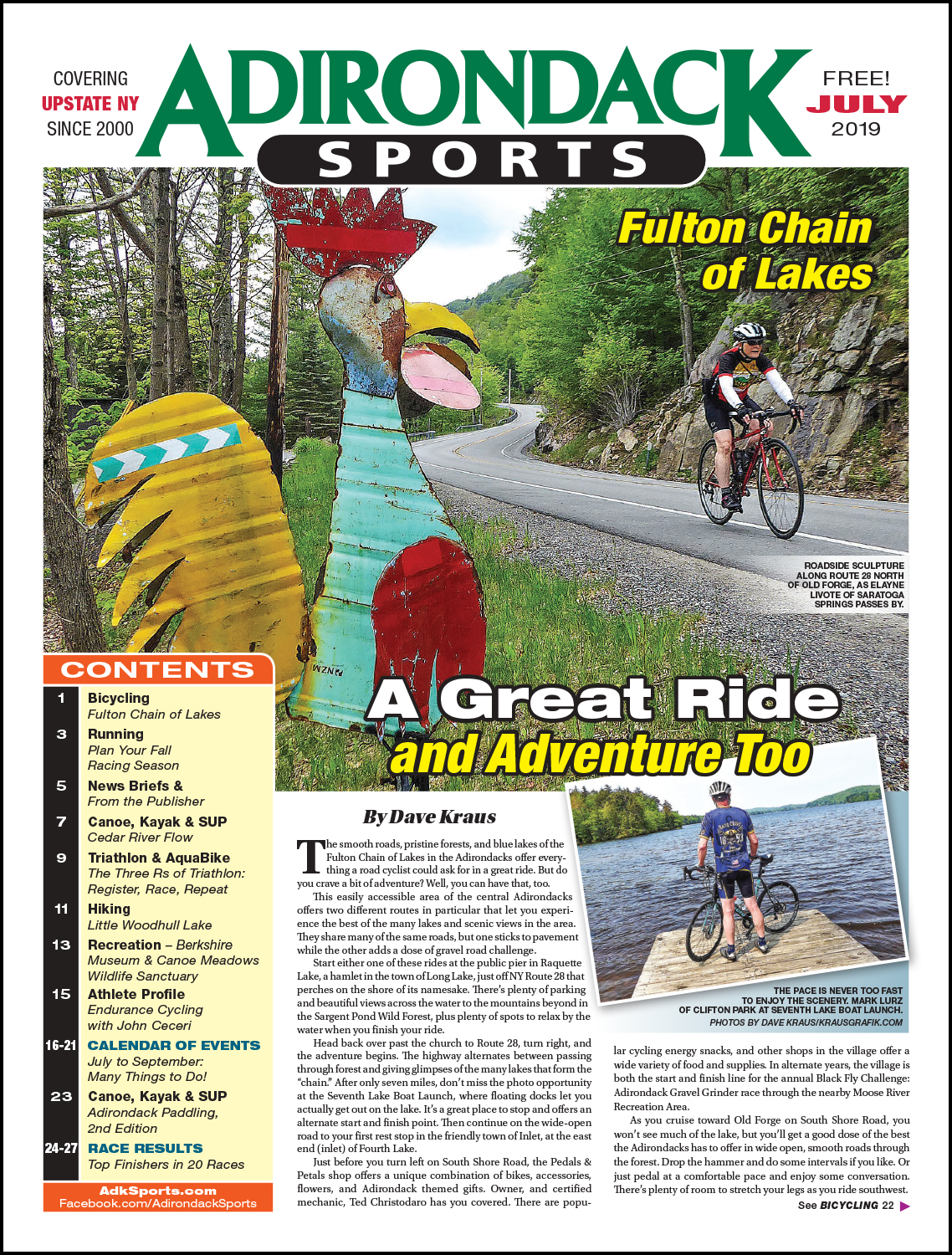 July 2019 - READ ARTICLES / VIEW PDF