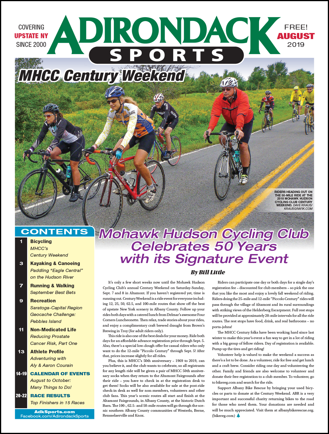 August 2019 - READ ARTICLES / VIEW PDF