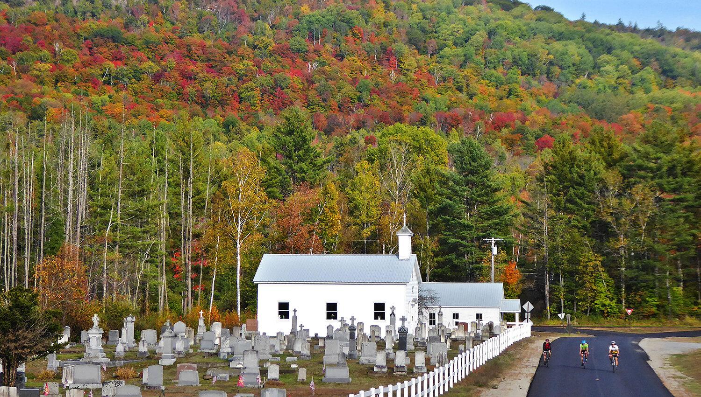 St. Mary's Catholic church, build 1847 by Irish immigrants, in Irishtown (Minerva). DAVE KRAUS/ KRAUSGRAFIK.COM