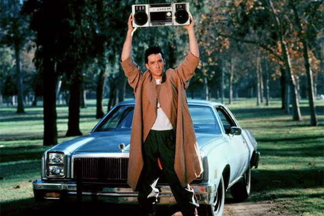 Still from Cameron Crowe's 1989 film  Say Anything