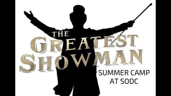 The greatest showman CAMP - ballet & jazz JuNE 10th-13th- 10:30Am-12:30PM Ages 6 Yrs. & Up June 17th-20th- 10:30am-12:30pm Ages 3-5 Yrs.