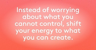 Monday kinda T H I N K about this... when you stop worrying and trying to control - you open the space to create the life you want. ❤️ #ewg #exwivesguide #createthelifeyouwant #mondaymantras