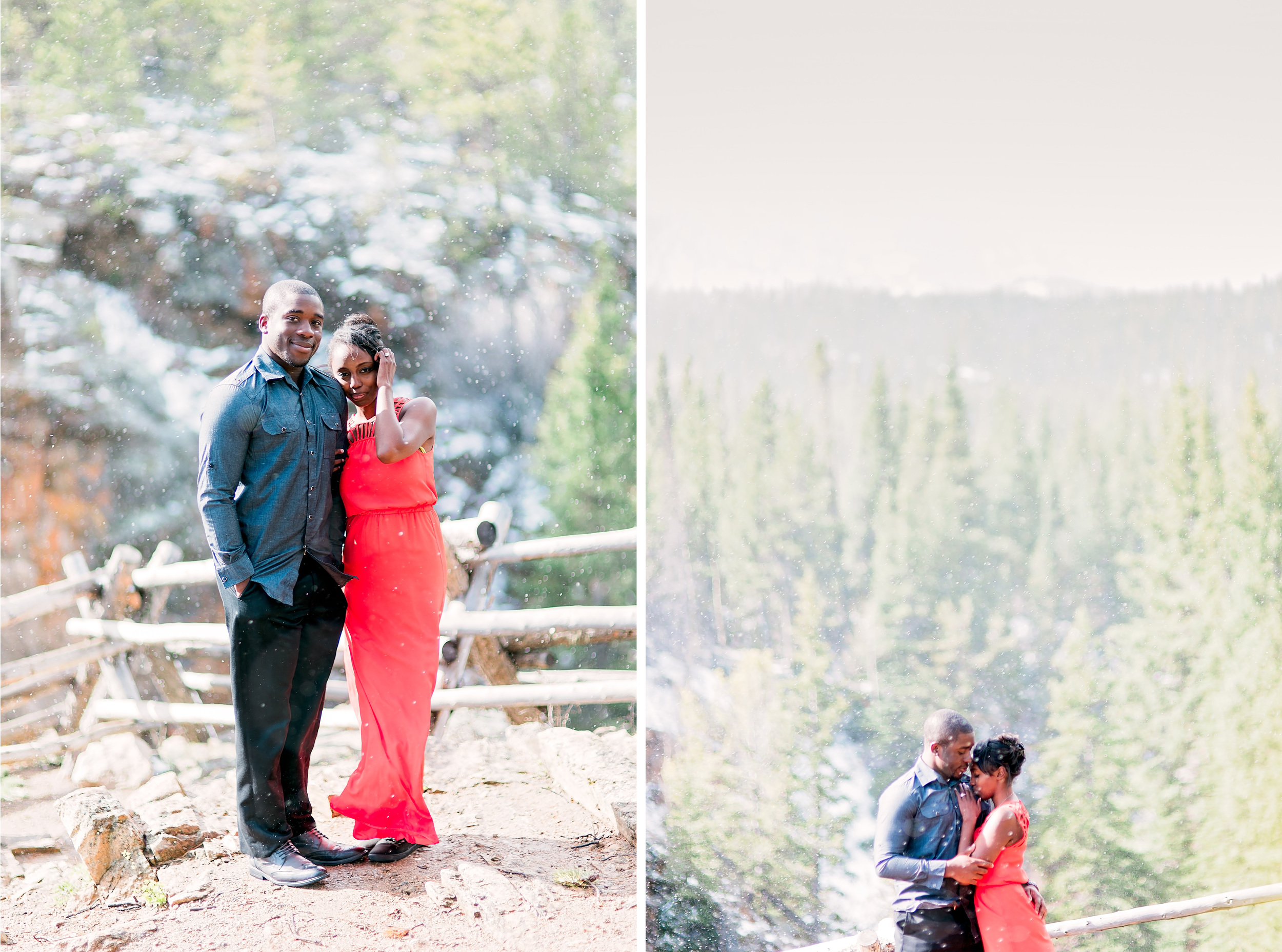 Denver Engagement- Pharris Photography- Texas Photographer- Bunmi and Joyce- Colorado