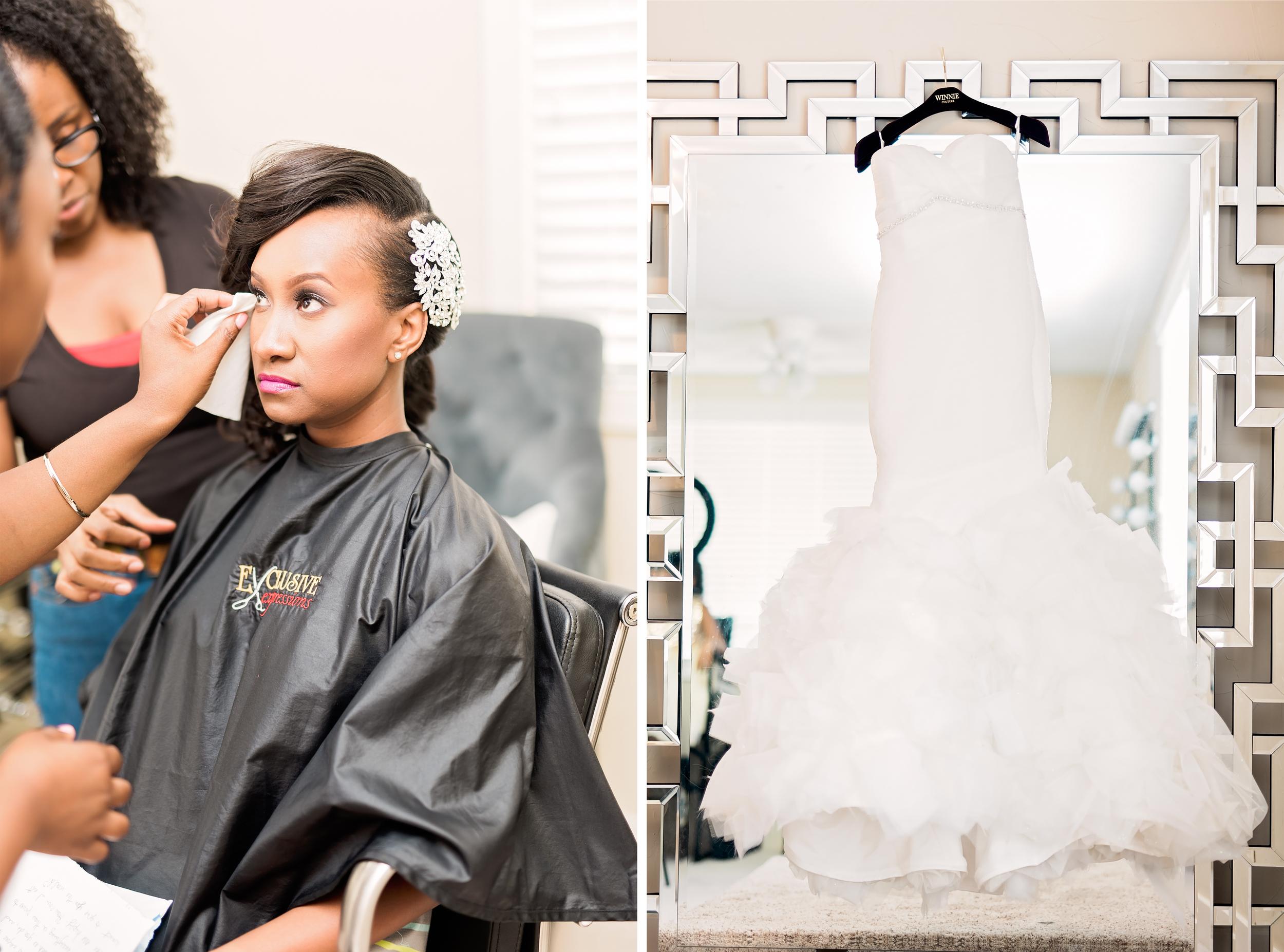 Houston Wedding- Pharris Photography- Texas Photographer- Jennifer and Ernie- Strapless Wedding Dress