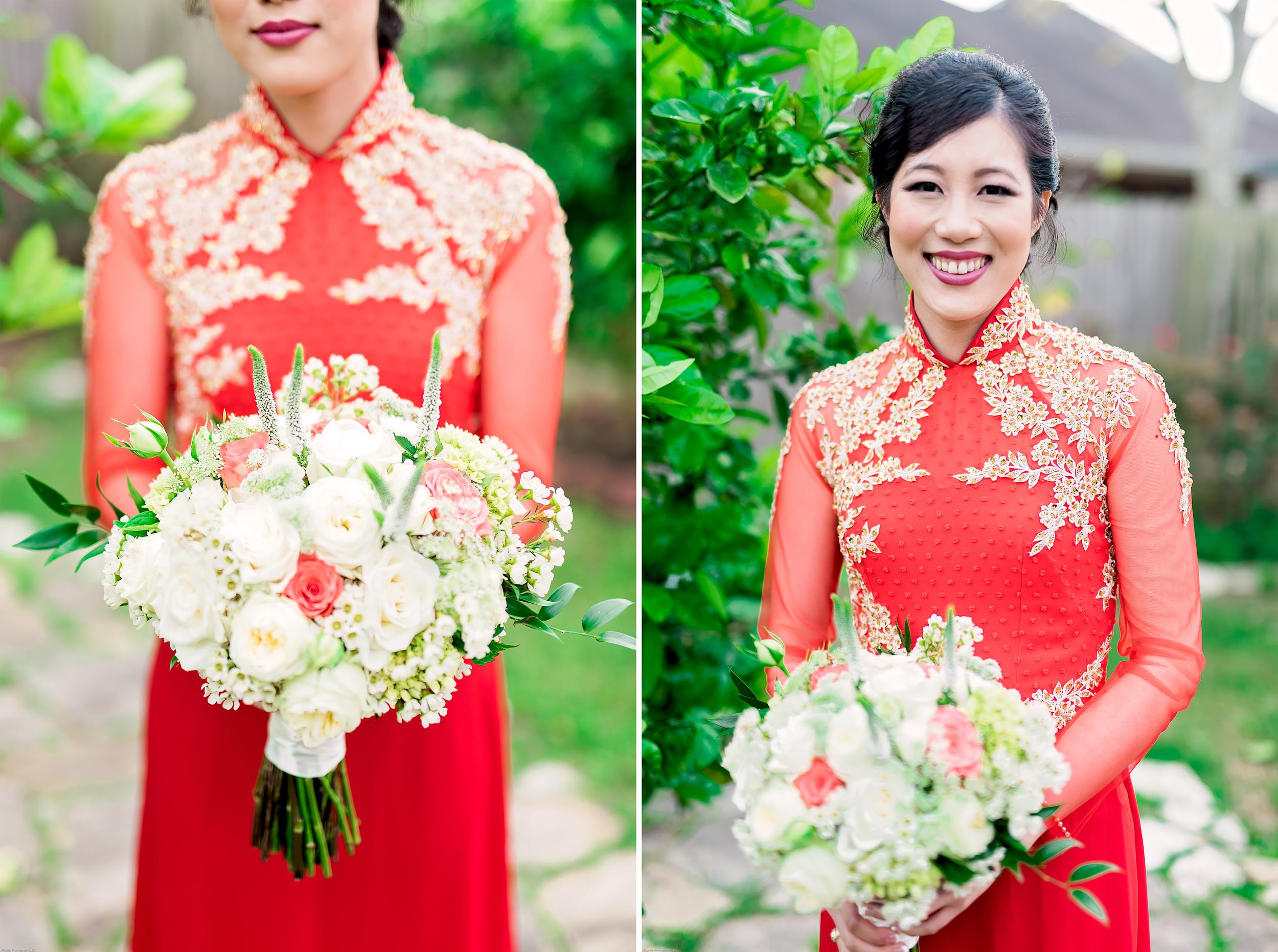 Houston Wedding- Texas Photographer- Pharris Photography- Kathy and Tho- Bridal Bouquet