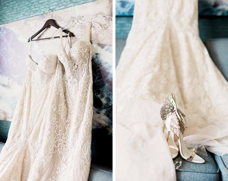 The Westin- Dallas Wedding- Texas Photographer- Pharris Photography- Jessica and Quincy- Wedding Dress- Details