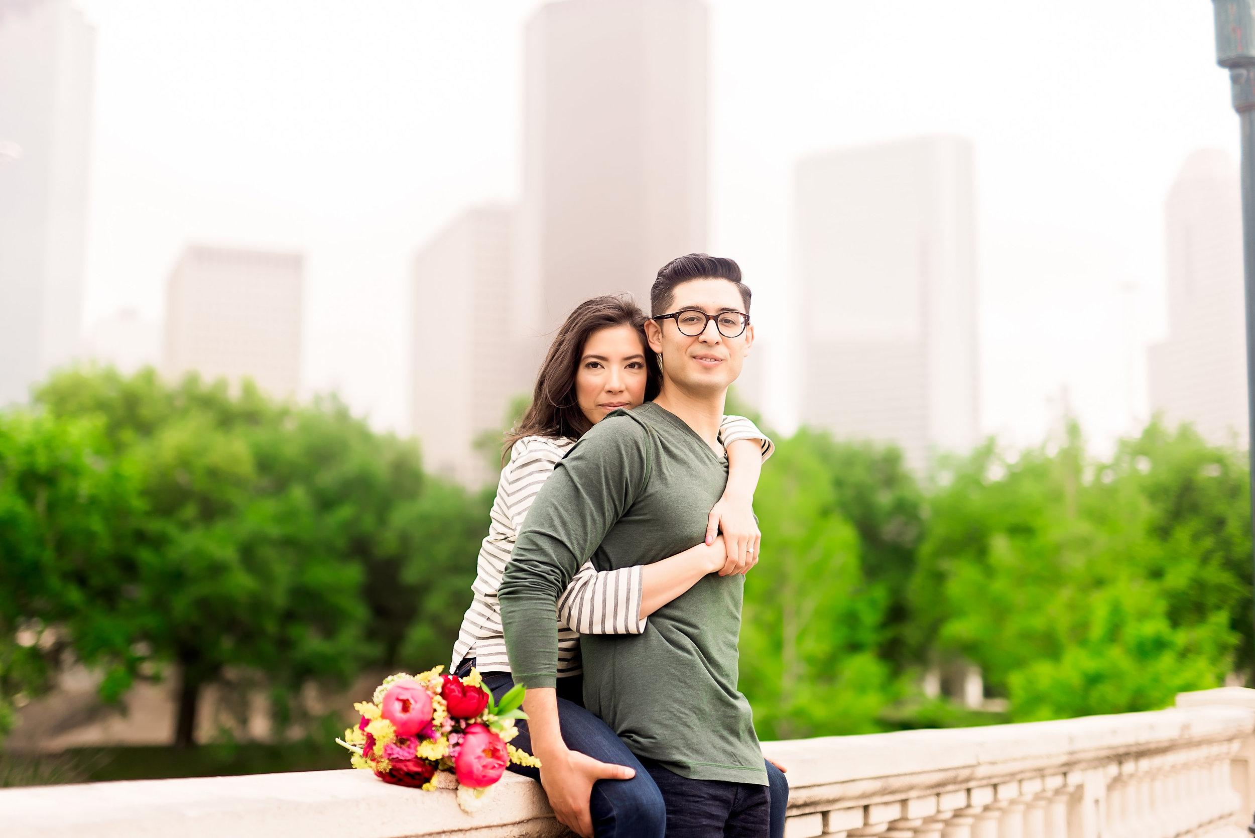 Engagement Session- Houston Engagement- Texas Photographer- Pharris Photography- Buffalo Bayou- Moses and Melody