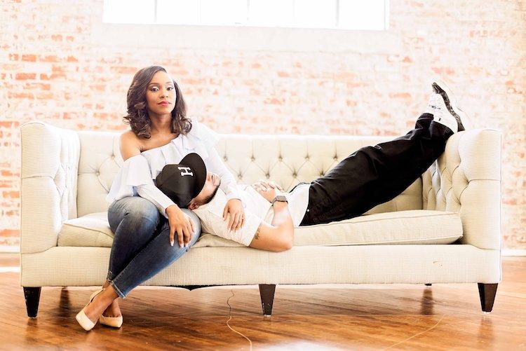 Engagement Session- The Houston Studio- Pharris Photography- Elainea and Jarred- Texas Photographer