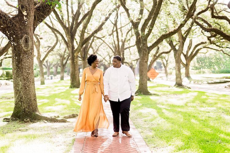 Engagement Session- McGovern Centennial Gardens- Pharris Photography- Kaala and Calvin