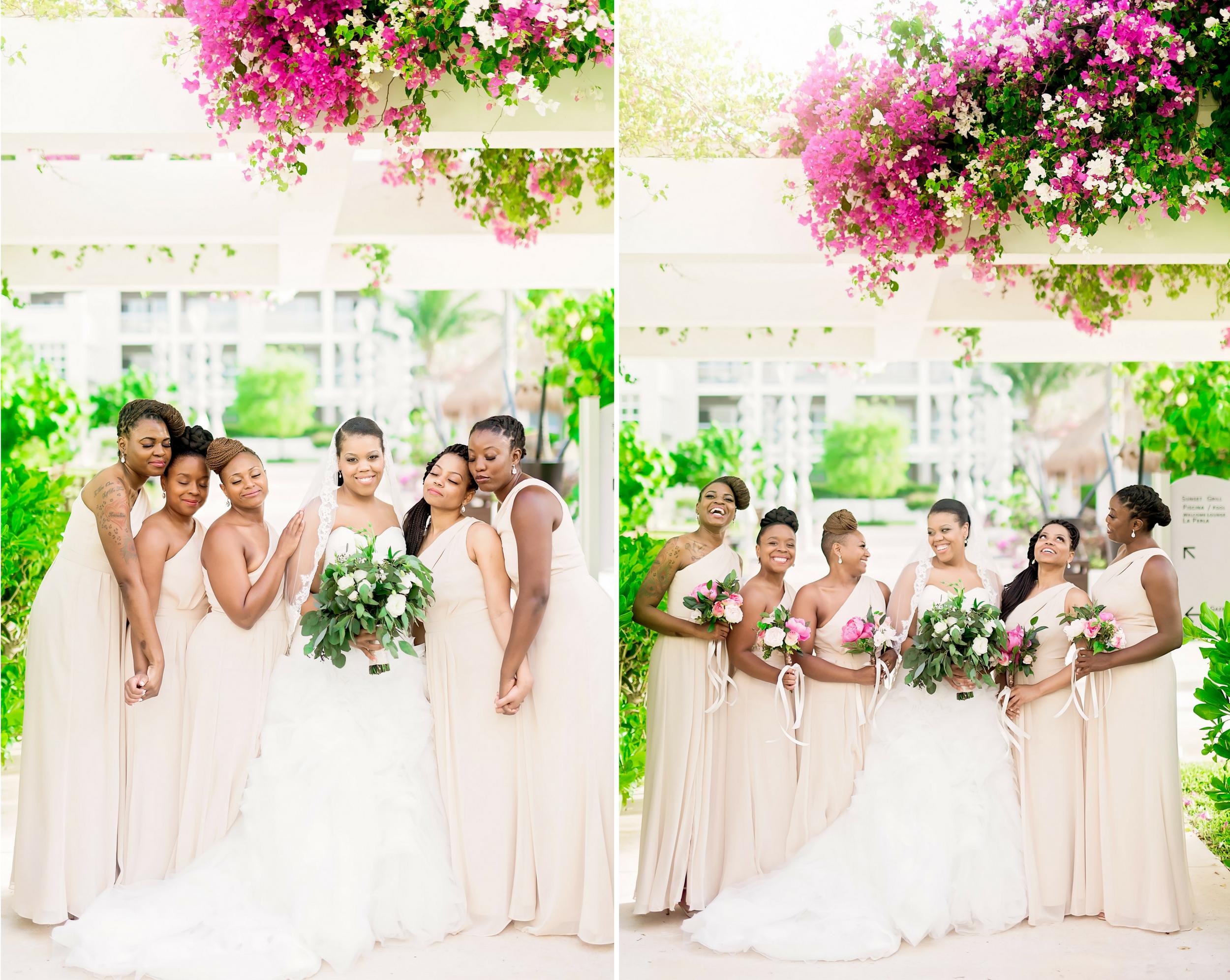 Mexico Wedding- Pharris Photography- Destination Wedding- Lauren and Curtis- Bridesmaids