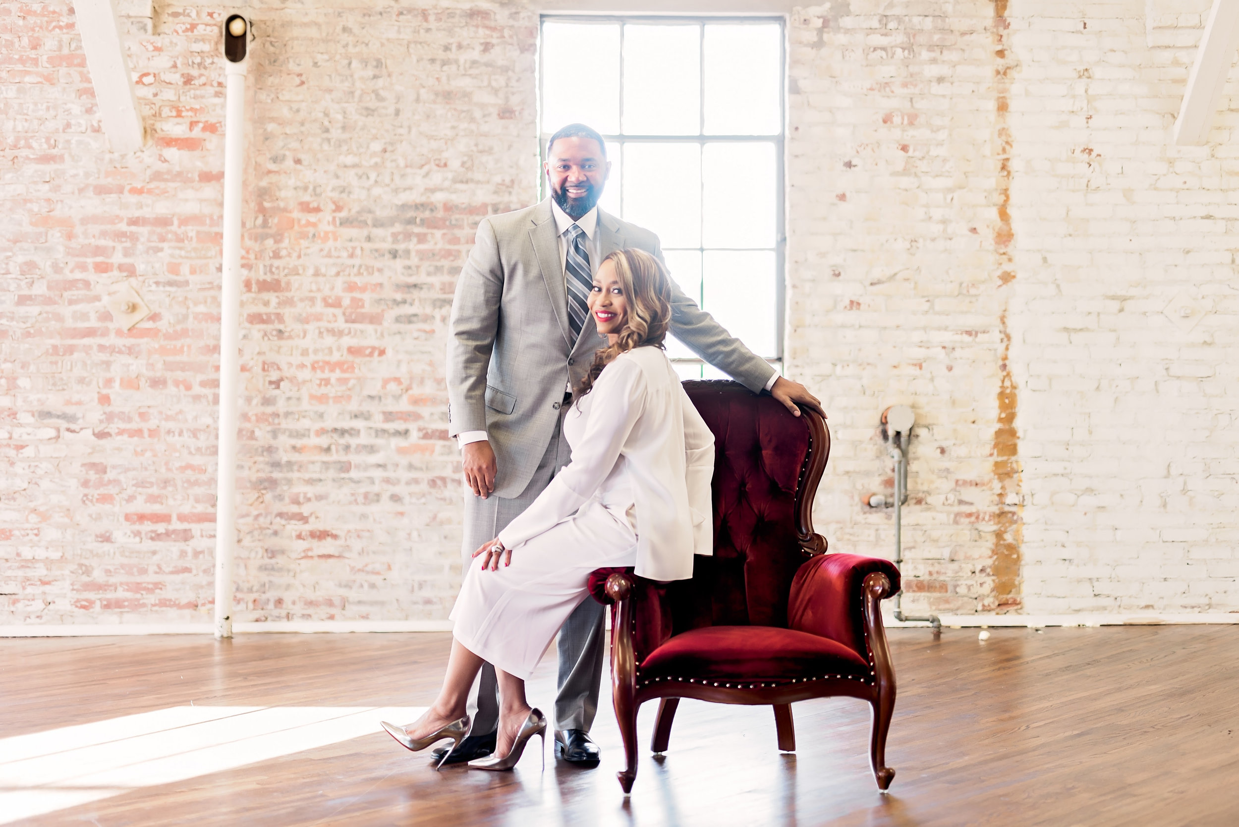 Cityscape Engagement- Texas Engagement- Pharris Photography- John and Shon