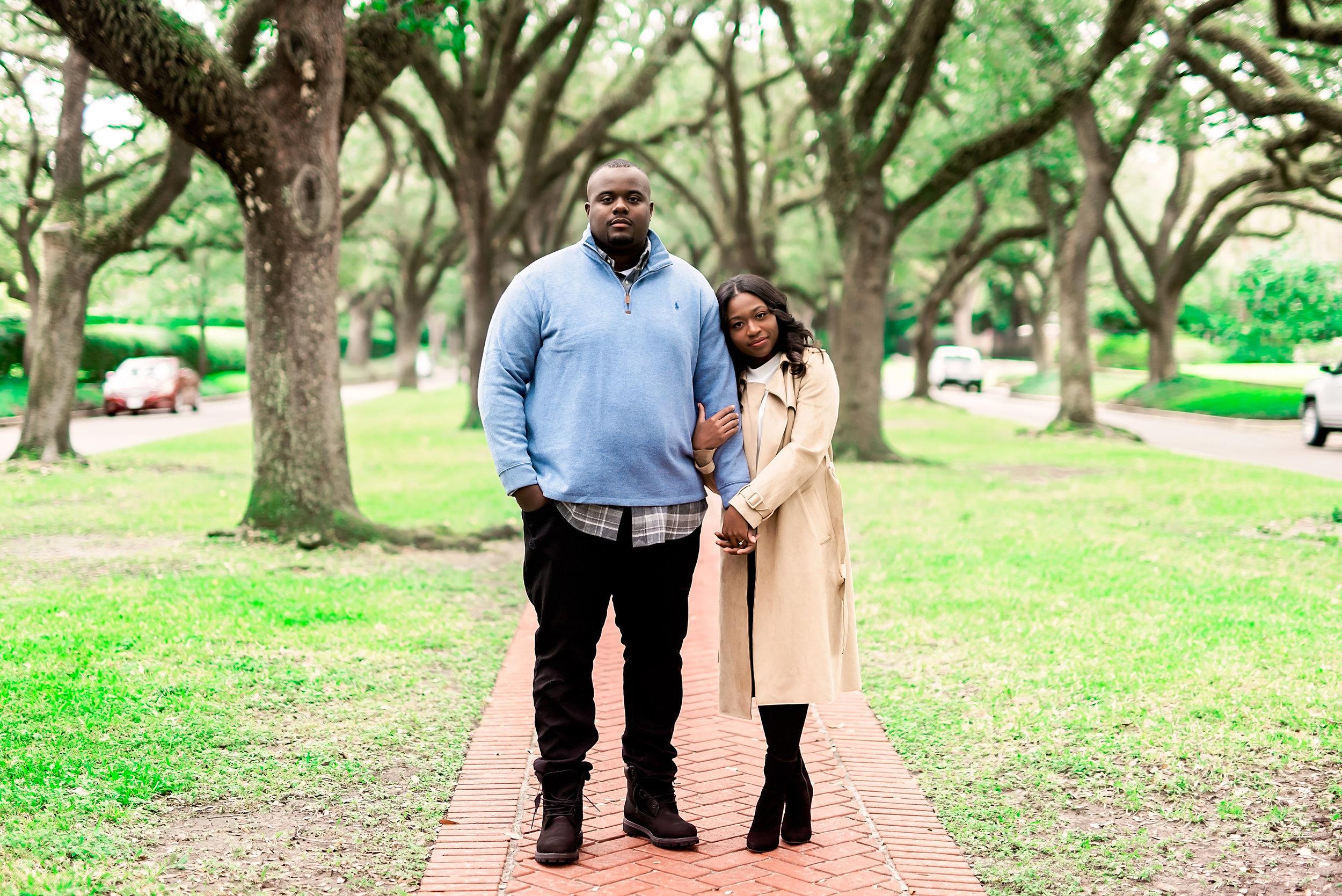 University of Houston- Pharris Photography- Evan and Meghan- Engagement Session