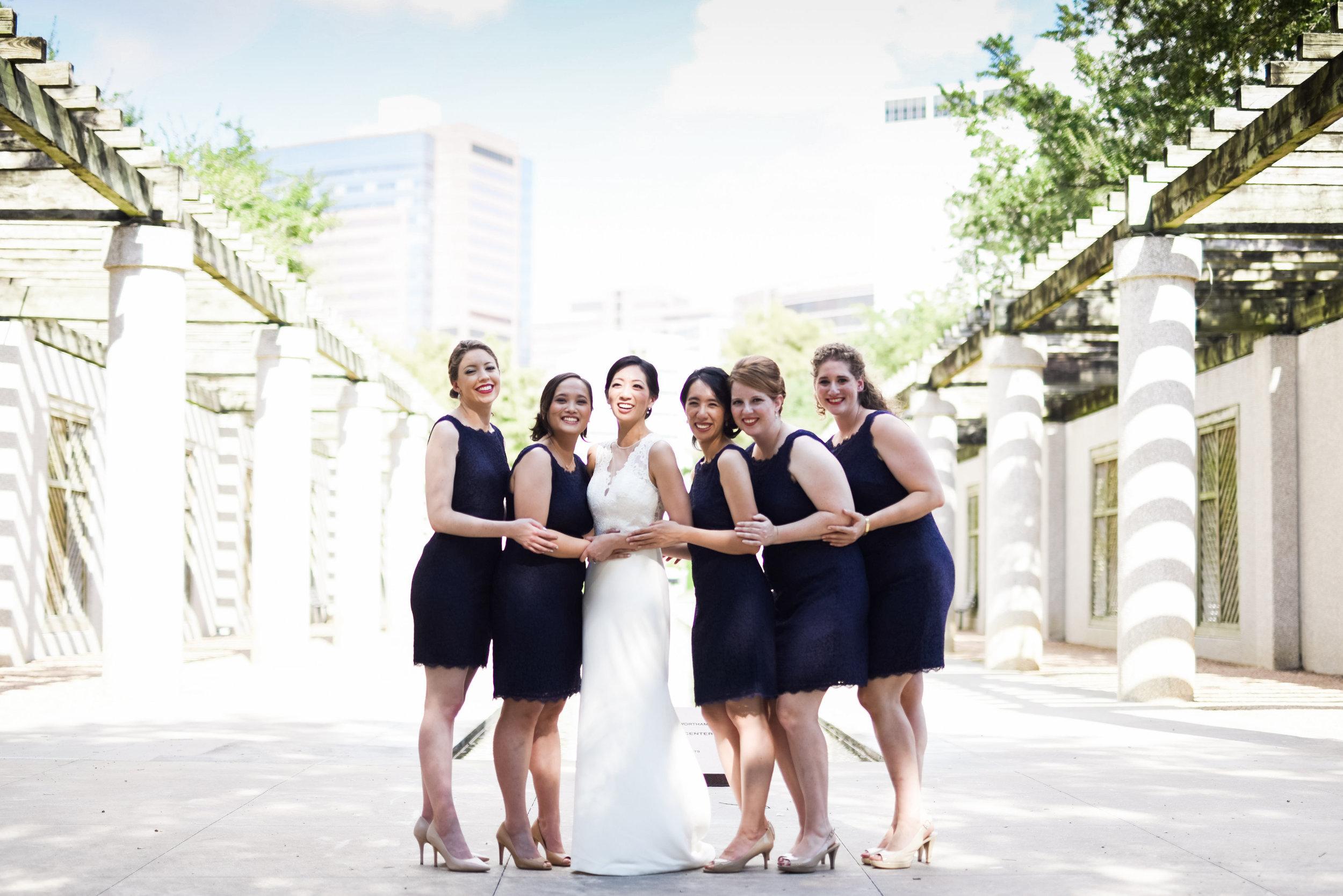Houston Wedding- Texas Wedding- Pharris Photography- Wedding Photography- Cathleen and Jeha- Bridal Party- Bridesmaids