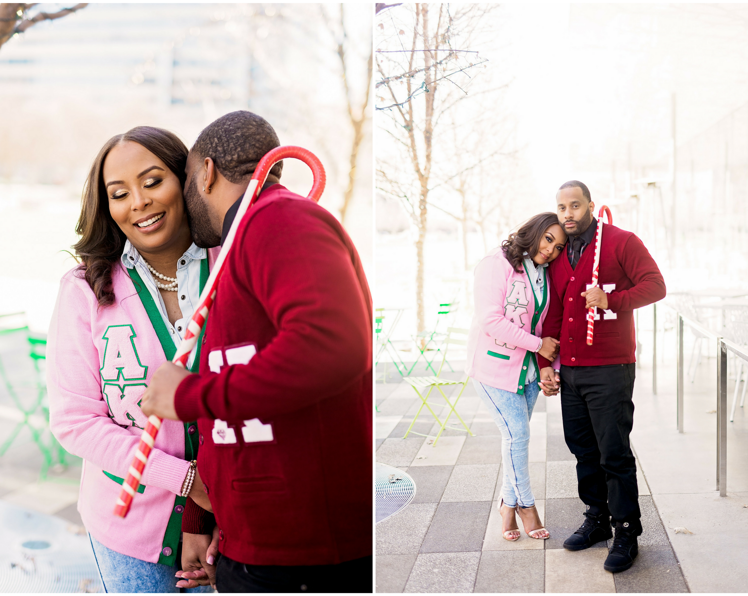 Klyde Warren Park- Dallas Engagement- Pharris Photography- Dorian and Chauncy- Texas Photography- Greek Letters