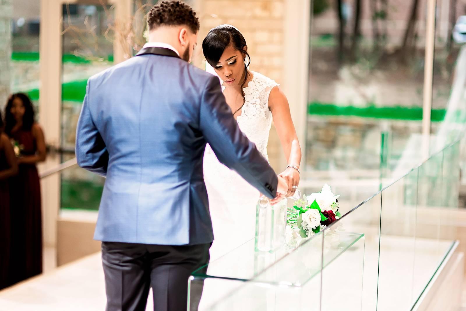 Texas Wedding- Pharris Photography- DeShana + Darryl- The Black Bride Magazine